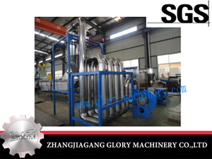 Pipeline Drying Machine for Plastic Washing Recycling Line