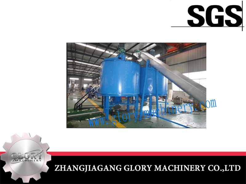 Hot Water Washing Machine for Plastic Recycling Production Line