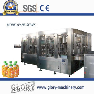 3000-15000BPH automatic bottled juice hot filling machine