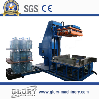 Automatic 5gallon bottle palletizer machine/stacker crane/ hacking machine