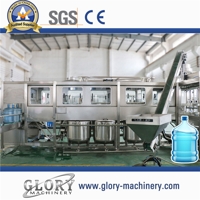 450BPH 5Gallon water washing filling capping 3-in-1 machine