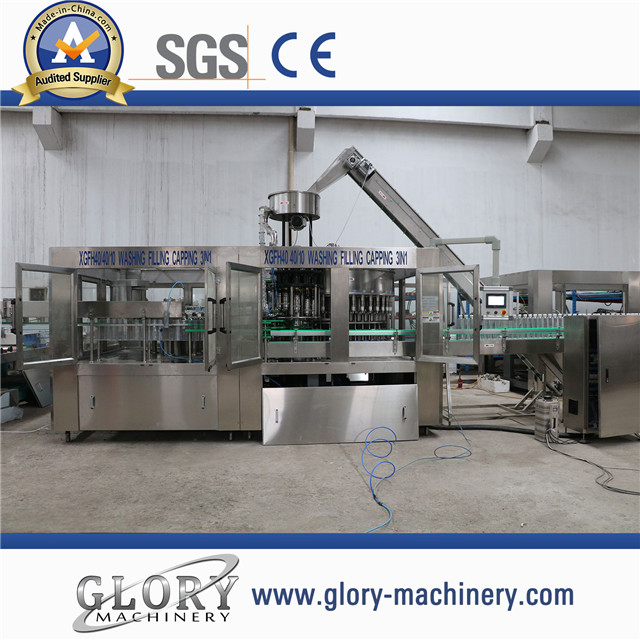 18000bph Auto Drinking Mineral Water Bottling Filling Machine