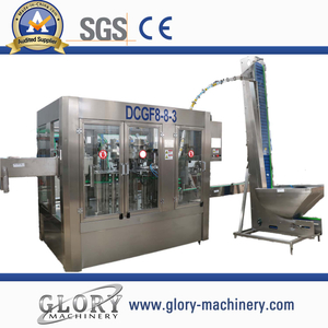 small capacity carbonated drink filling 3-in-1 machine