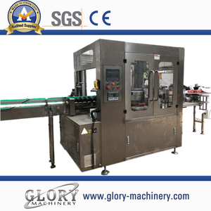 8000-18000bph opp stick labeling machine for round bottle