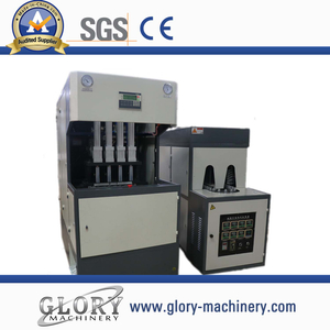 1500bph 4cavity semi-automatic pet bottle blowing machine