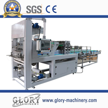 Straight line high speed automatic shrink wrapping packaging machine