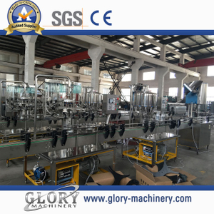 2000BPH Split auto bottle water filling line
