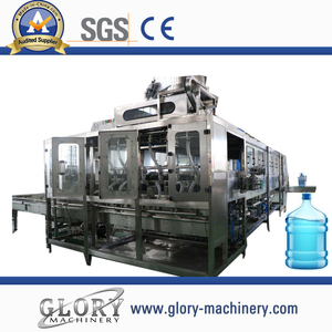 1200BPH automatic rotate 5 gallon mineral water filling production line