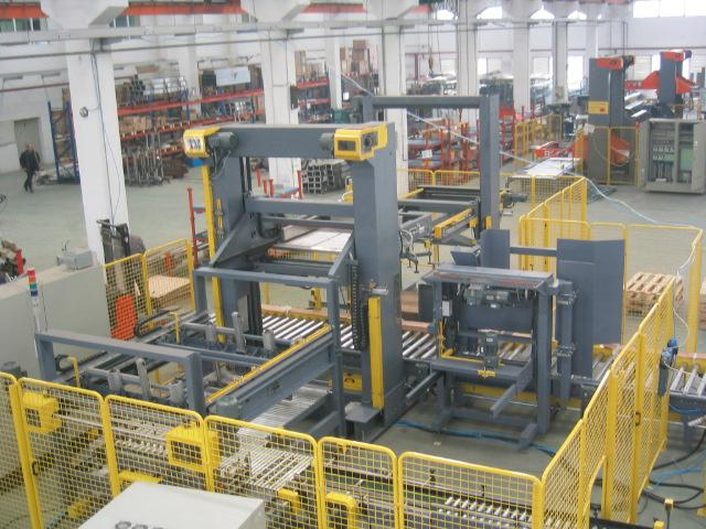 Automatic Lower Poisition Case Palletizer Machine