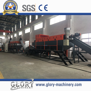 PP/PE plastic recycling washing recycling line