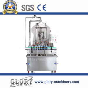 Automatic cans water filling machine