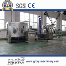 3000bph Water Washing Filling Capping Labeling Production Line for Pet Bottle