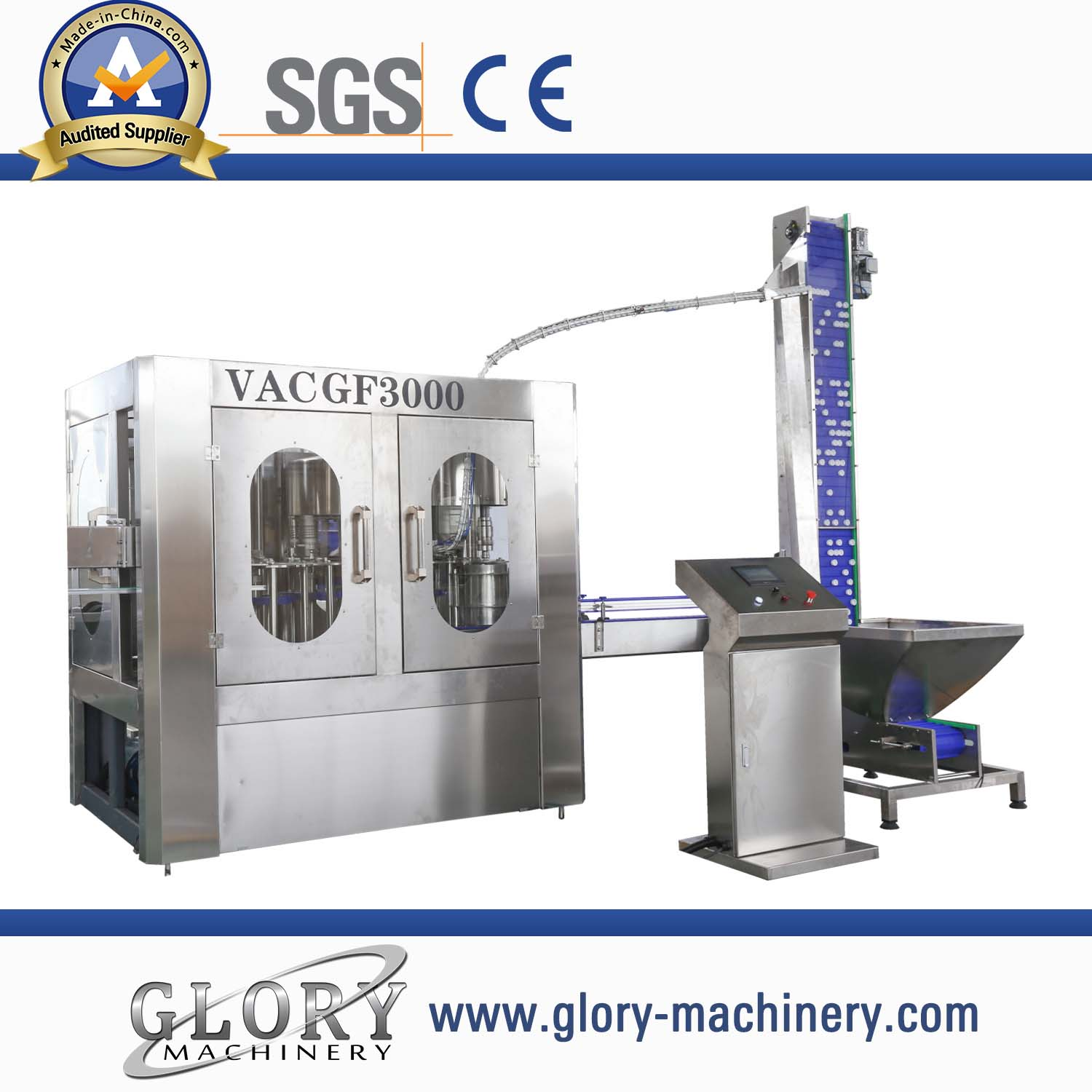 8-8-3 economical automatic 3-in-1 water filling machine